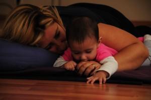 anne bebek yogasi